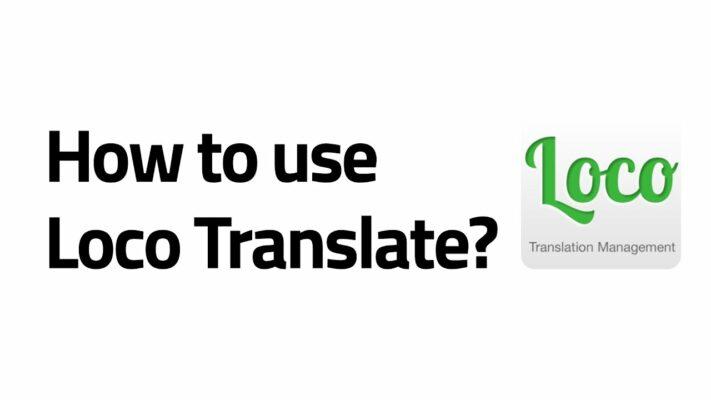 dịch theme và plugin loco translate