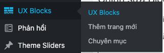 ux blocks