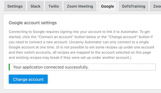 google account success 1