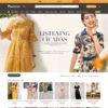 Giao diện thời trang quần áo