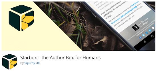 plugin tiểu sử tác giả miễn phí