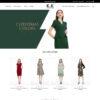Giao diện mẫu thời trang