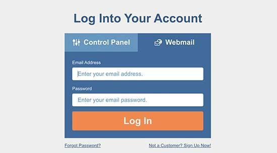 su dung webmail hosgator