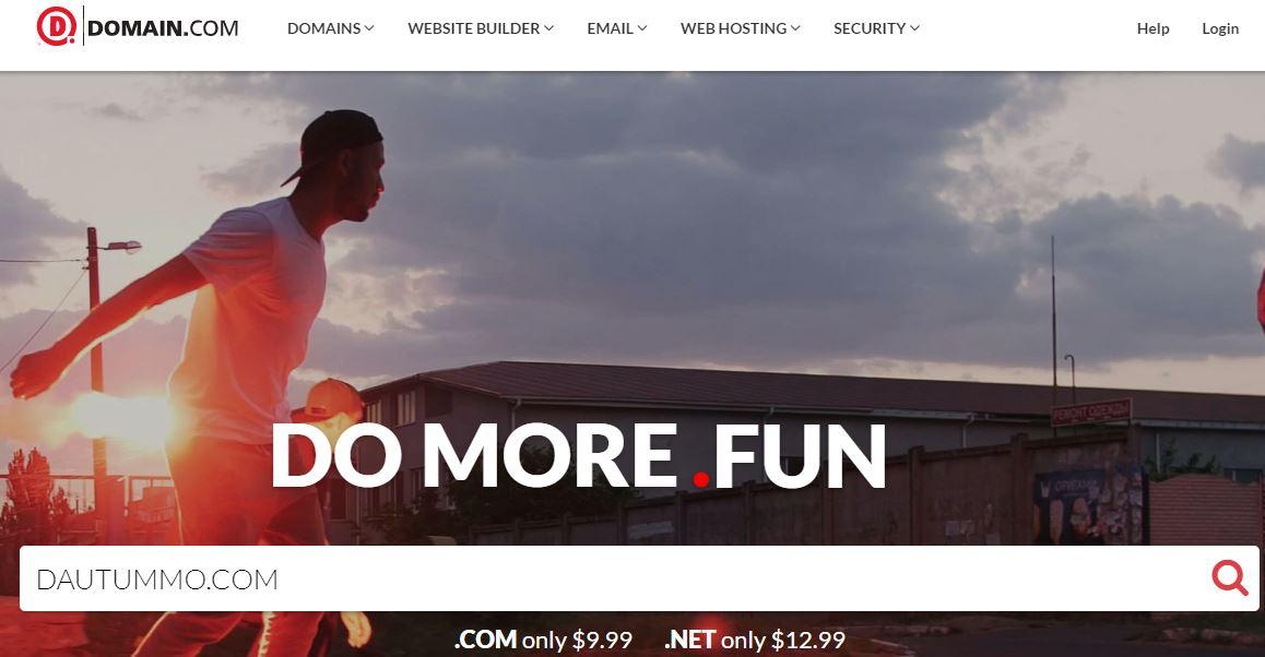 trang web domain